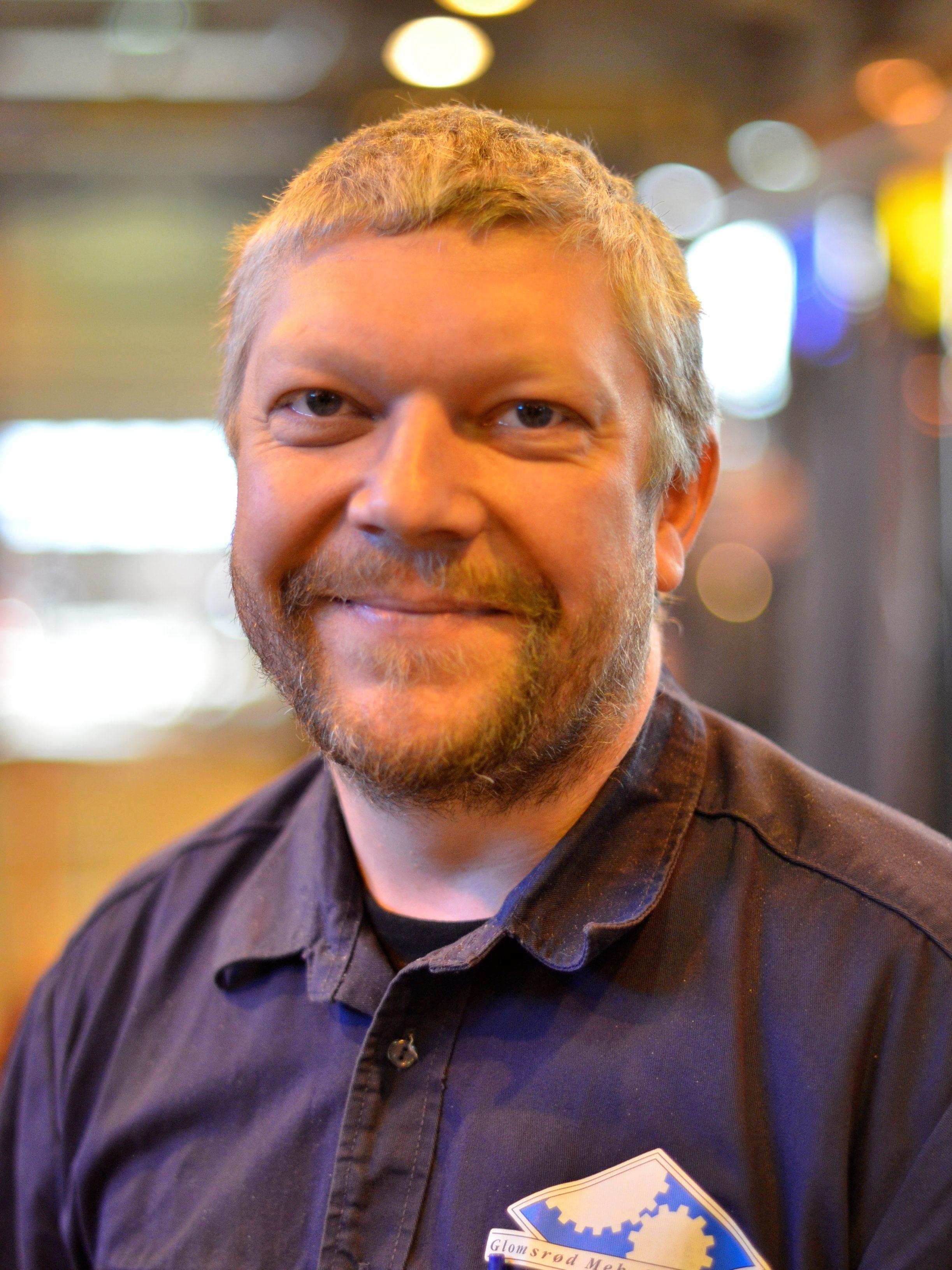 Roy Johansen : Verksmester